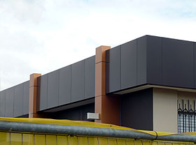 Aluminium composite panels cladding Sydney