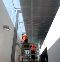 Aluminium  Fascia Wall Cladding, Interior Cladding